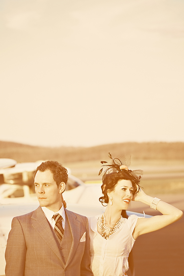 Adam and Lauren- Vintage Editorial Shoot