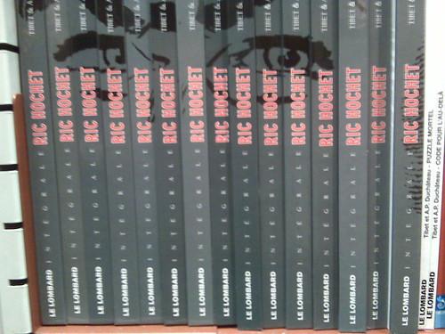Ric Hochet  Intégrale BD Albums