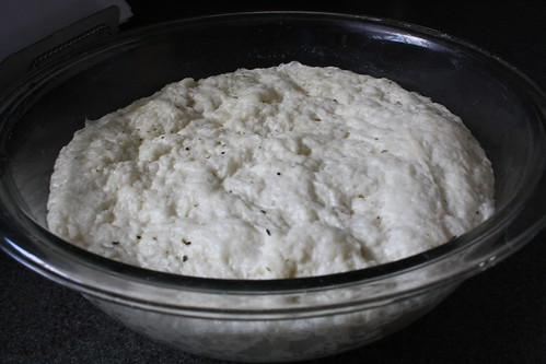 The dough: after