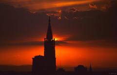 La Cathédrale de Strasbourg - Bas-Rhin (Philippe_28) Tags: sunset france nikon cathedral gothic strasbourg cathédrale alsace gothique münster