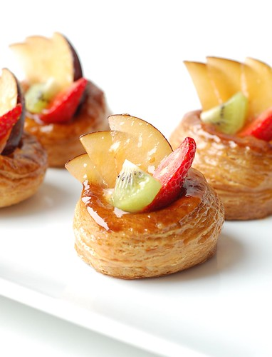 Fruity vol-au-vents