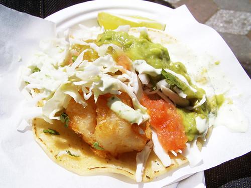 shrimp taco @ pinche taqueria