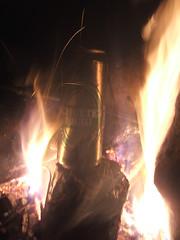 fuel for the fire (alibobar) Tags: camping fujis5500 sevenum bergerhof prilpop