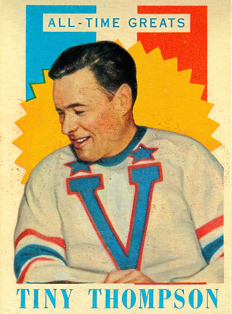 TOPPS NHL Playing Cards 1960-61 — All-Time Greats  3