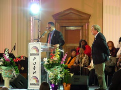 Reverend Jackson, Fiels kick off National Library Week at RainbowPUSH Coalition headquarters