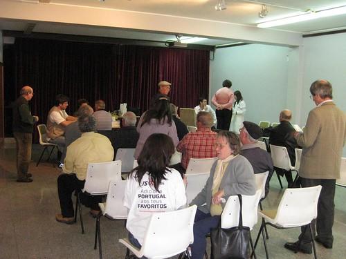 Actividade desenvolvida pela JS de Matosinhos para assinalar o Dia Mundial da Saúde