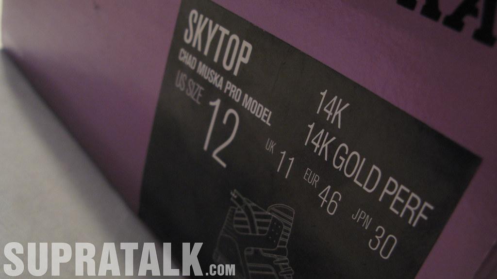 Supra Skytop 14K Gold Perf - Supratalk.com