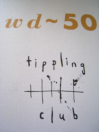 wd-50 & tippling club menu (cover)