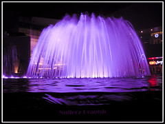 Fountain or Cake? (Nullerz) Tags: pink color water fountain colors cake night photoshop canon wow dark design is amazing cool nice flickr purple graphic noflash ixus estrellas attractive shutter kuwait beatiful avenues 960 mywinners platinumphoto aplusphoto flickrhappy colourartaward goldstaraward 100commentgroup grouptripod