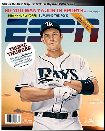 Evan Longoria: Coverboy