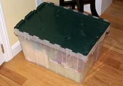 fabricScraps (TranquilityKnots) Tags: storage fabric scrap organize