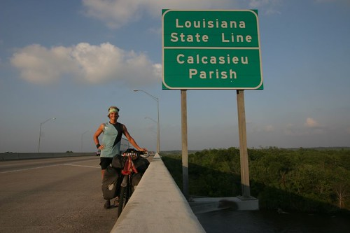 Goodbye Texas, Hallo Louisiana.