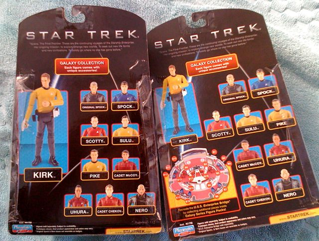Trek figure cardbacks