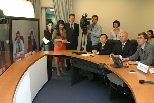 Cisco TelePresence Room at Kazakhtelecom