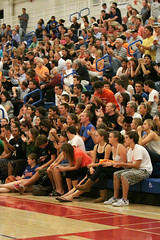 2009 Los Gatos Varsity Volleyball Team-166 (mikedove_flickr) Tags: crowd volleyball losgatos 2009 bellarmine ccsplayoffs losgatosvolleyballvarsity2009