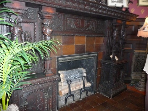Westbrook Library Fireplace