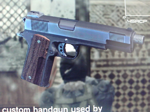 Metal Gear Solid Props - Guns, Gear and Gadgets - Page 8 M1911 Custom Mgs4