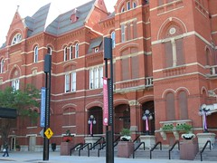 only part of the Cincinnati Music Hall (c2009 FK Benfield)