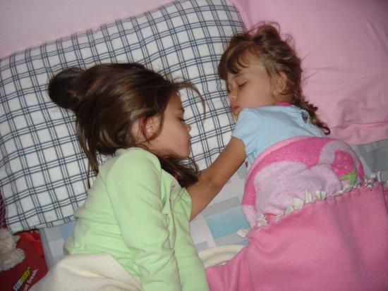 Sleeping cousins