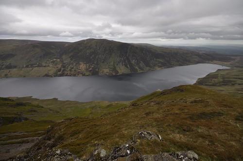 Auchnafree hill across Loch Turret