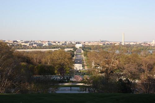 View of Washington from Arlington House