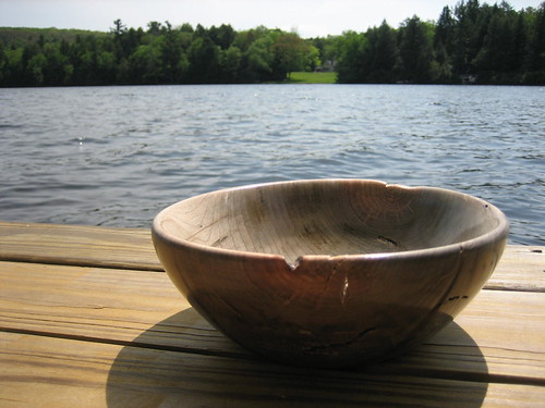 Lake Log Bowl