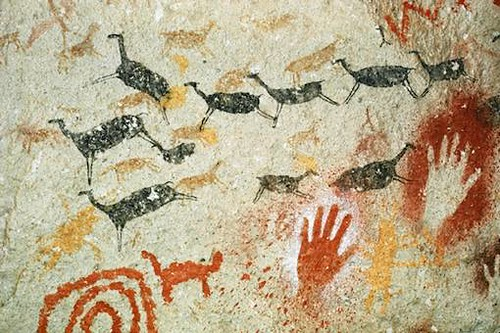 Traful-cave-paintings