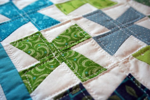 Mini quilt close-up