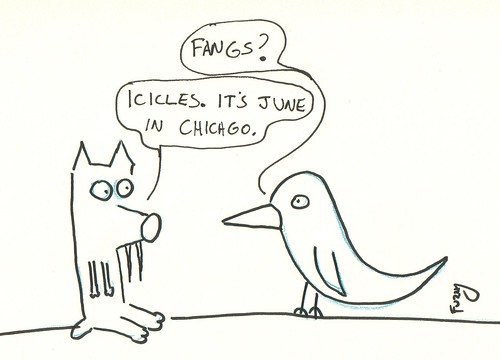 366 Cartoons - 121 - Coyote and Raven