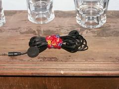 Detainglers: No more ear-bud tangles! (nerdynunchucks) Tags: wire organize earbud detainglers