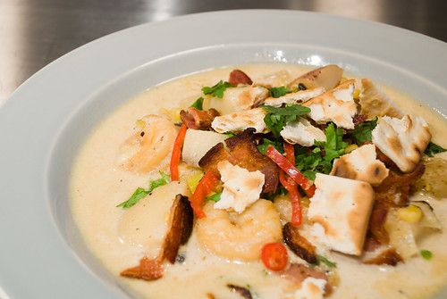 Shrimp and Sweet Corn Chowder