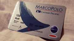 Marco Polo Club Silver - Cathay Pacific Airways (Matt@PEK) Tags: oneworld cathaypacific