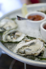 Oysters, Oola Restaurant & Bar, San Francisco