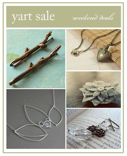 yart sale - jewelry.