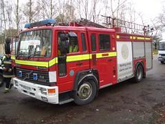 Volvo Fire Engine - Side