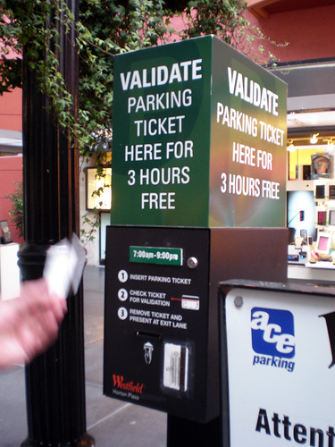 Horton Plaza - Parking Validation
