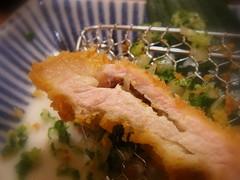 蔥花蒜泥鹽味豬排