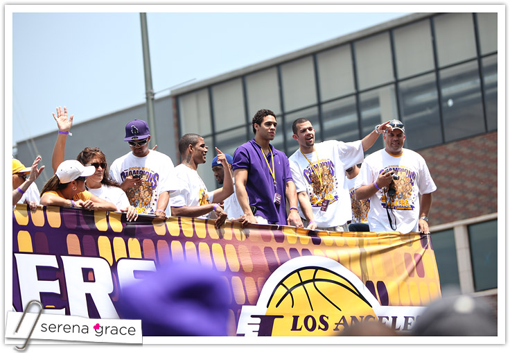 Lakers Parade