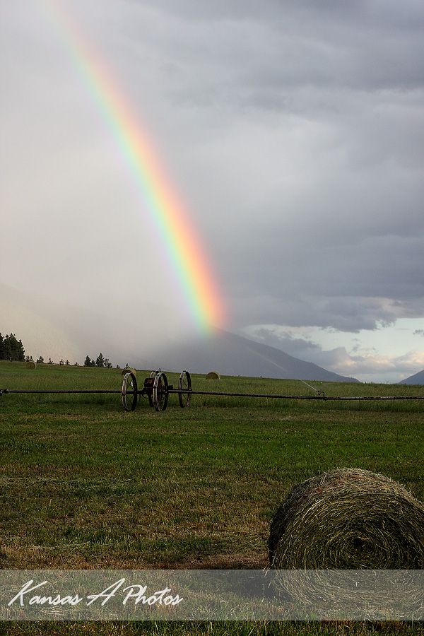 Rainbow on the Ranch