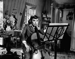 Audrey Hepburn in Love in the Afternoon (1957) (cine.m-a iubit) Tags: audreyhepburn classiccinema filmefavoritecornel cinemaiubit