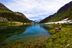 joy of summer (chris frick) Tags: summer lake alps switzerland explore moutains martina uri a700 explore28 goeschenen sonyalpha700 chrisfrick joyofsummer