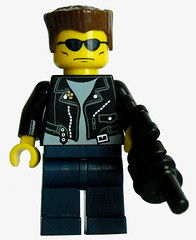 The Terminator V.2 (miniBIGS) Tags: lego arnold figure minifig terminator custom judgementday