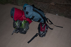 Our gear (Grand Canyon, Arizona, United States) Photo