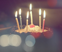 [RFEE3 ELSHAN  ] (Aih.) Tags: birthday cake rainbow blurry candles bokeh chocolate birthdaygirl loveu elshan a rfee3