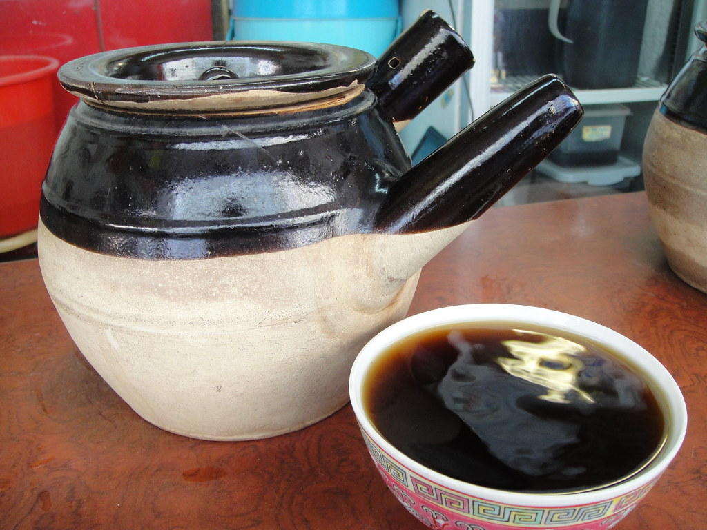 Herbal Tea and Pot ????? 20090809