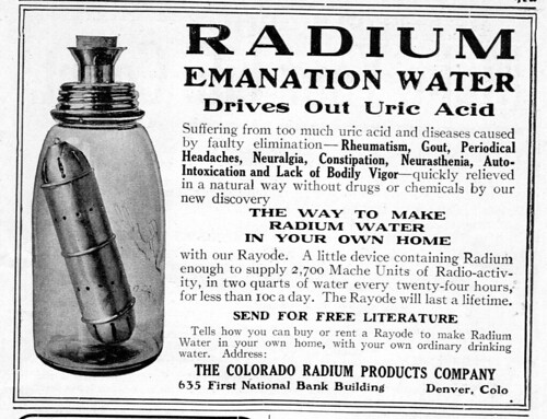 Radium Emanation Water