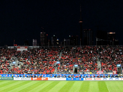 Toronto Skyline from BMO field