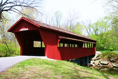 covered bridge (kk7k) Tags: old trip trees light ohio red usa white color tree green art love beautiful beauty look digital america canon wow wonderful landscape geotagged happy photography photo interestingness cool scenery colorful flickr pretty day unitedstates photos top awesome scene best explore hate ugly coveredbridge frontpage digitalphoto 2012 2010 digitalphotography 2015 project365 sidneyohio landscapescenery explored flickr2010 2010flickr 29april201001