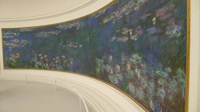 Monet at the Musee de l'Orangerie
