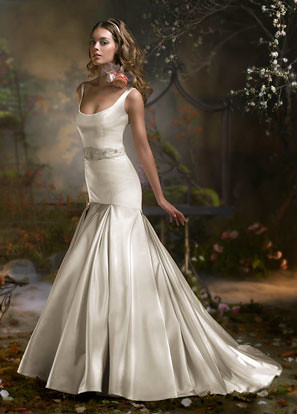 neckline- scoop, maryland, bridal gowns, love couture bridal, Lazaro bridal, Lazaro style 3808